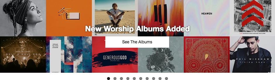 New Worship Albums Added